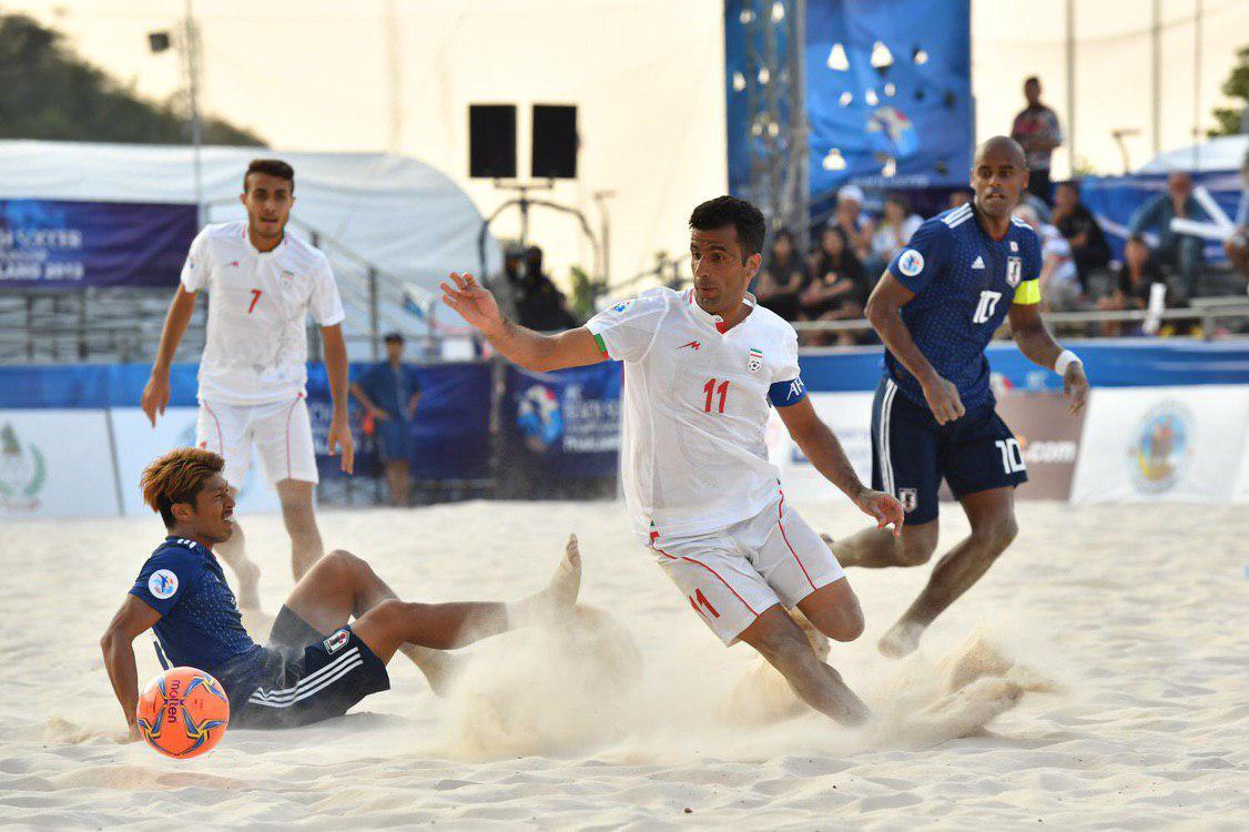 شکست غیر منتظره تیم فوتبال ساحلی برابر ژاپن - 11