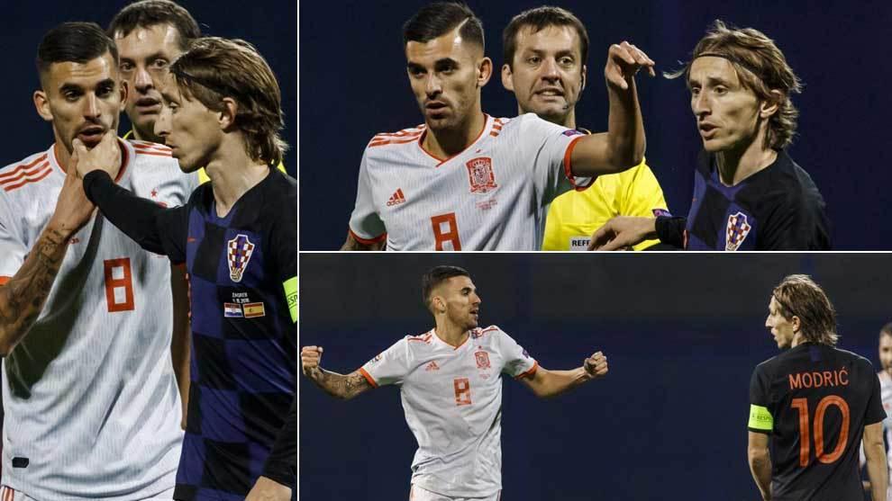 درگیری فیزیکی رئالی ها در بازی کرواسی-اسپانیا(عکس) - 5