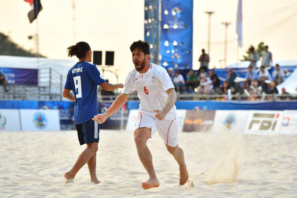 شکست غیر منتظره تیم فوتبال ساحلی برابر ژاپن - 13