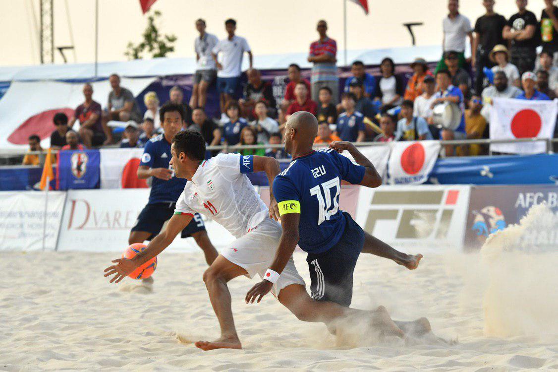 شکست غیر منتظره تیم فوتبال ساحلی برابر ژاپن - 12