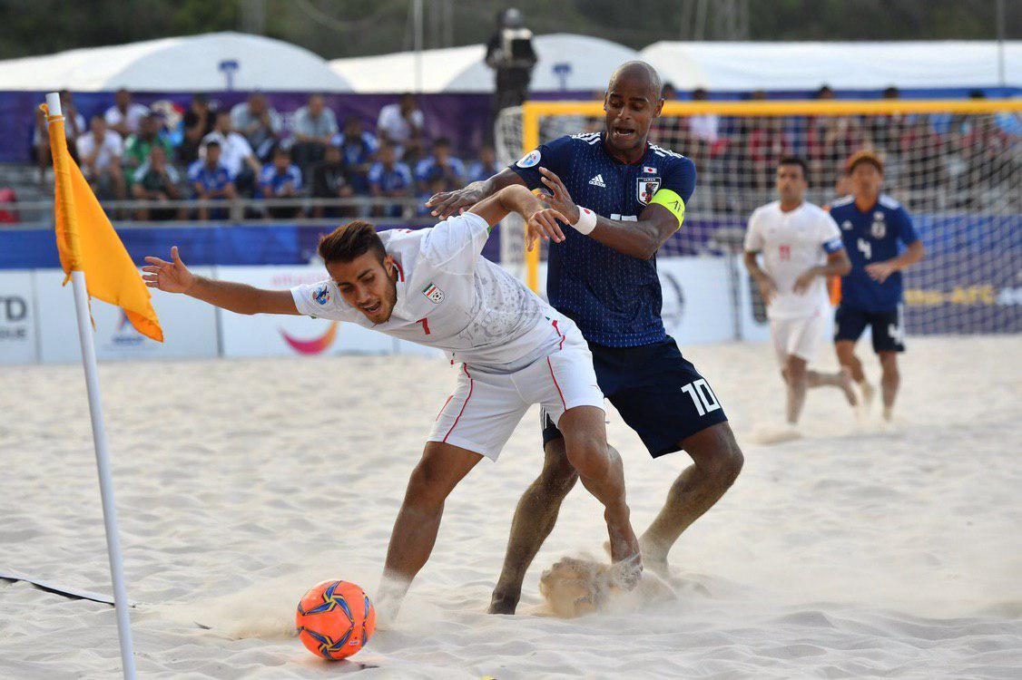 شکست غیر منتظره تیم فوتبال ساحلی برابر ژاپن - 10